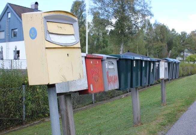 Postkasser i Borås